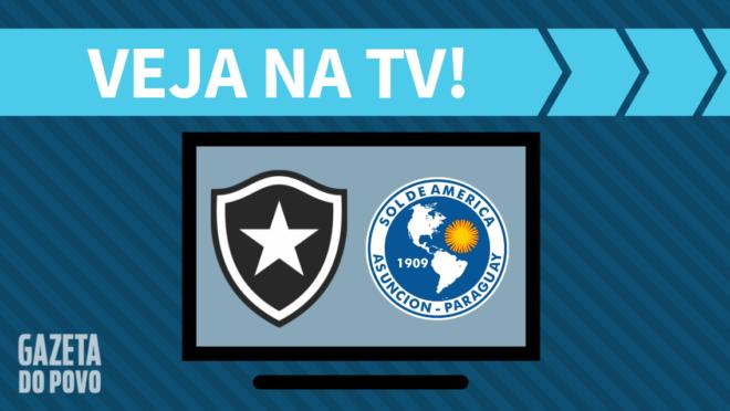 Botafogo x Sol de América: veja na TV