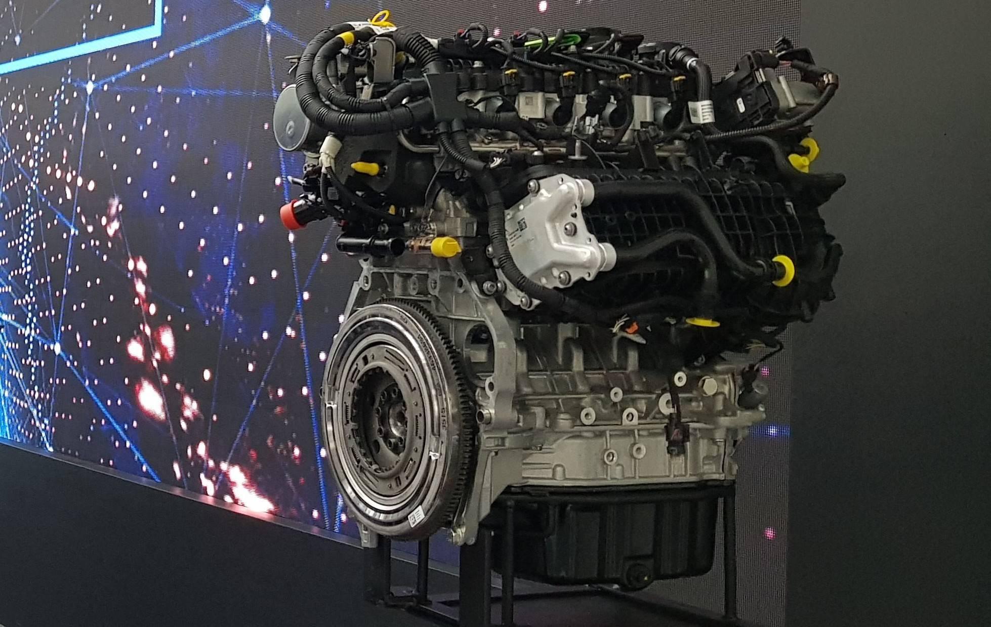 Motor turbo da família FireFly, que a Fiat começará a produzir a partir de 2020. Foto: Renyere Trovão/ Gazeta do Povo