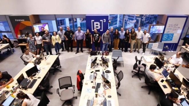 equipe da bolsa brasileira B3 se instala no espaço de empreendedorismo Cubo, em SP
