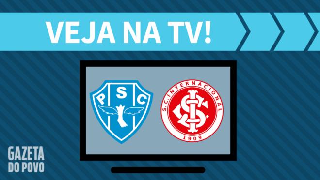 Paysandu x Internacional: veja na TV