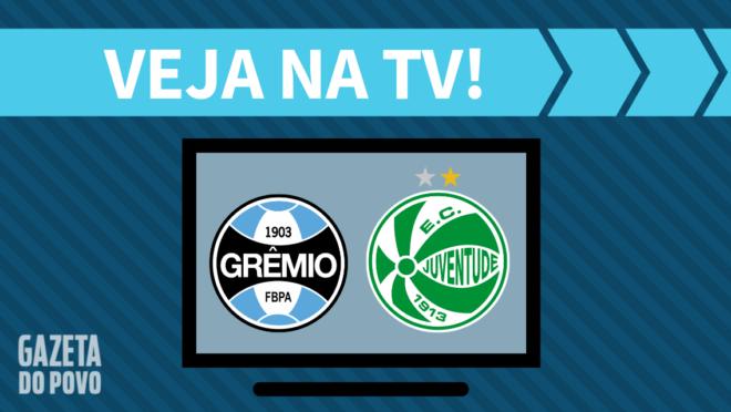 Grêmio x Juventude: veja na TV