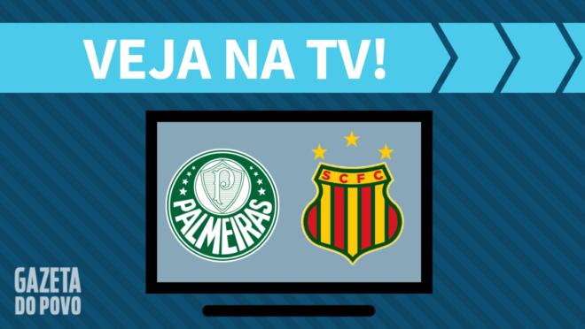 Palmeiras x Sampaio Corrêa: veja na TV