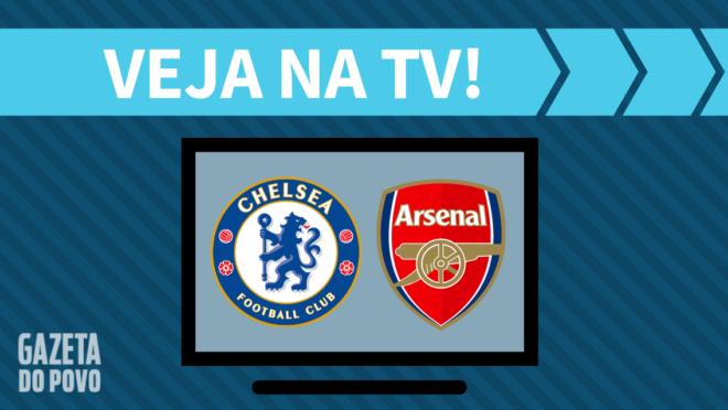 Chelsea x Arsenal: veja na TV