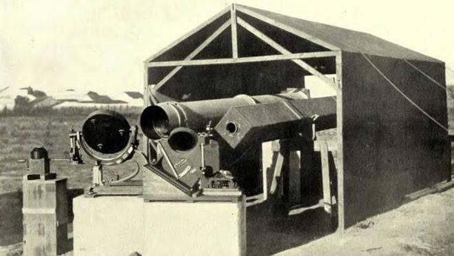 Instrumentos usados na observação do eclipse solar de 1919 em Sobral