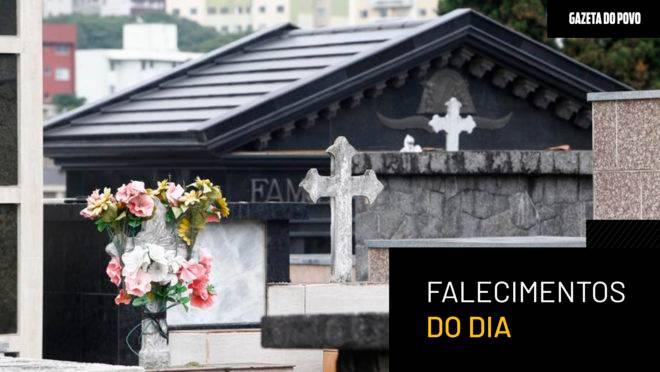 Lista de falecimentos – 20/06/2019