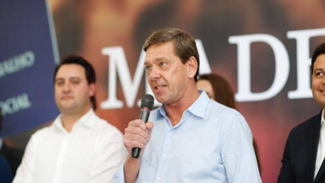 Júnior Durski anuncia investimentos para fábrica do Madero em Ponta Grossa. Foto: Hedeson Alves.