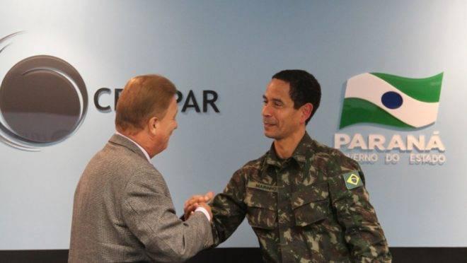 Coronel Rômulo Marinho participou do esquema de segurança da Copa de 2014.