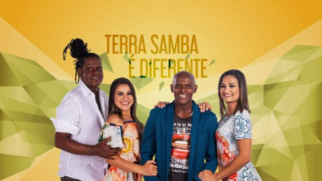 O Brasil é um show do Terra Samba apresentado pelo Fernando Vanucci