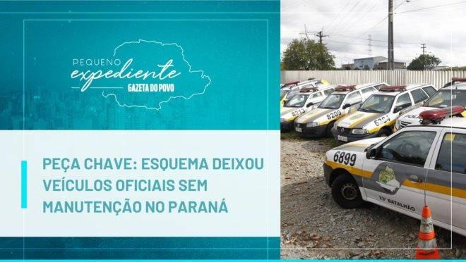 Pequeno Expediente: o esquema de desvios na manutenção de carros oficiais do Paraná