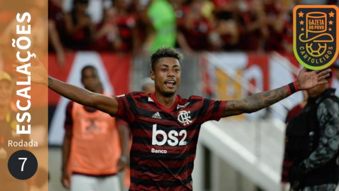 Bruno Henrique, do Flamengo, será poupado na 7.ª rodada do Cartola FC 2019