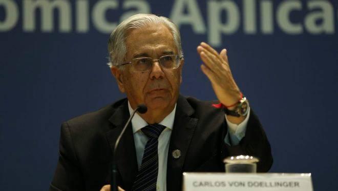 O presidente do Instituto de Pesquisa Econômica Aplicada (Ipea), Carlos von Doellinger