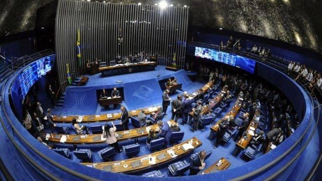 Plenário do Senado Federal, em Brasília: Foto: Jonas Pereira/Agência Senado