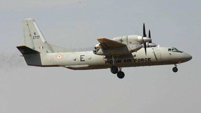 Aeronave desaparecida era do modelo Antonov AN-32