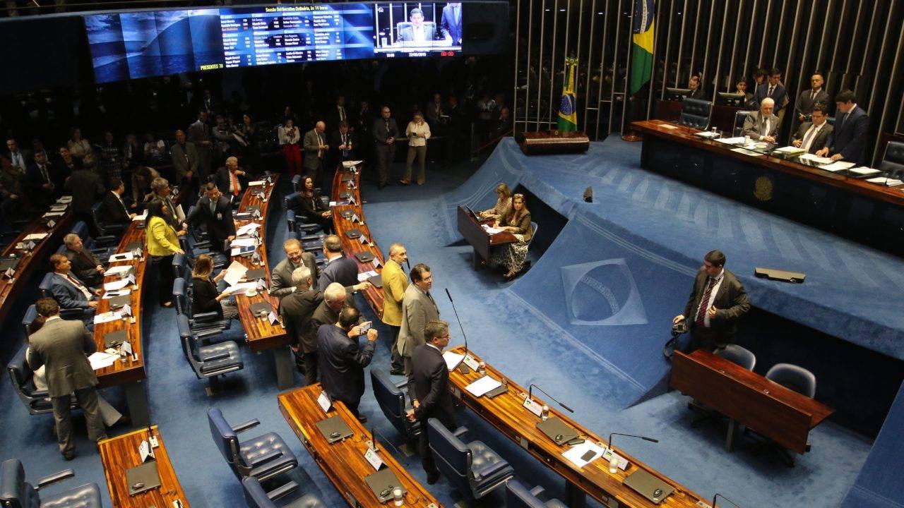 Plenário do Senado.