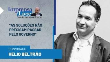 Helio Beltrão falou com exclusividade ao Imprensa Livre