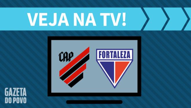 Athletico x Fortaleza: veja na TV