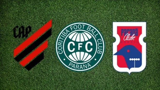 """Só no """"tapetinho""""? Veja quem é pior fora de casa: Athletico, Coritiba ou Paraná"""