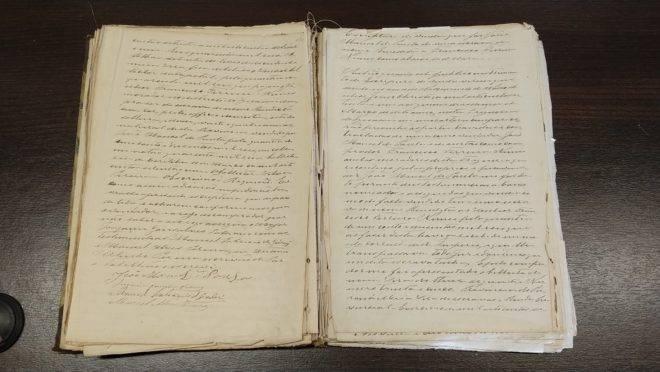 Cartório tem 7 livros com registros de escravos