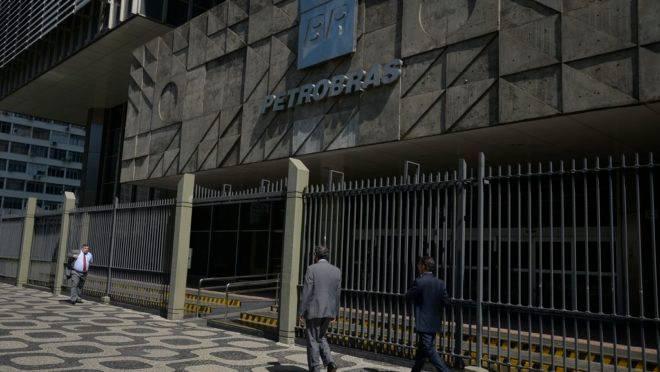 O edifício sede da Petrobras, no centro do Rio de Janeiro.