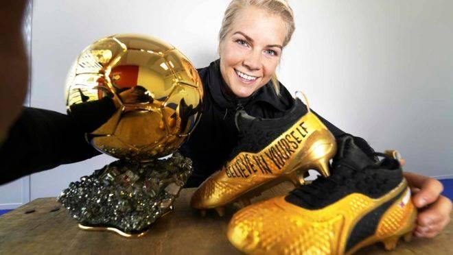 Ada e a bola de ouro: estrela do futebol feminino não jogará a Copa do Mundo.