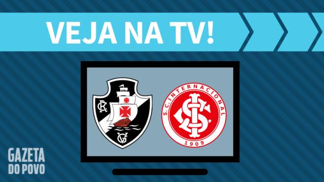 Vasco x Internacional: veja na TV