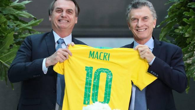 Bolsonaro e Macri, Brasil e Argentina