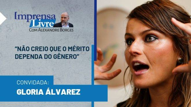 A cientista política Gloria Álvarez é a entrevistada dessa semana do Imprensa Livre
