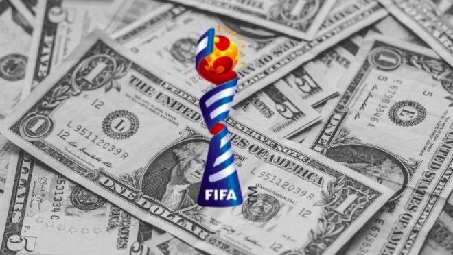 Premiação Copa do Mundo de futebol feminino.