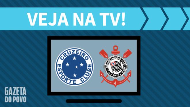 Cruzeiro x Corinthians: veja na TV