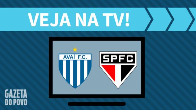 Avaí x São Paulo: veja na TV