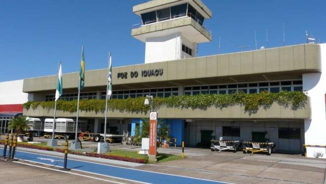Aeroporto de Foz do Iguaçu.