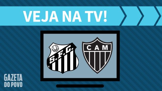 Santos x Atlético-MG: veja na TV