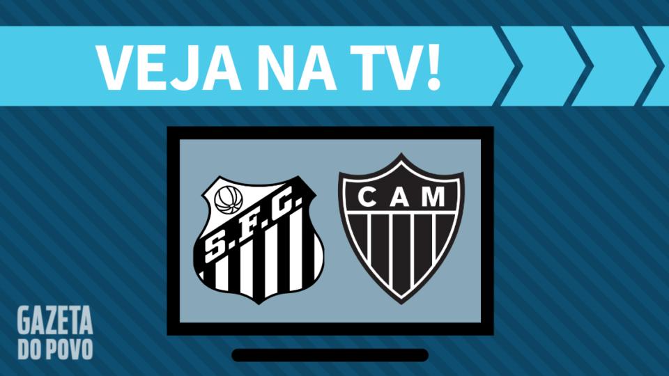 Santos x Atlético-MG AO VIVO: saiba como assistir ao jogo na TV