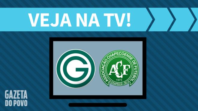 Goiás x Chapecoense: veja na TV