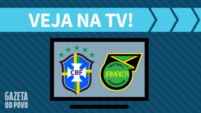 Brasil x Jamaica: veja na TV