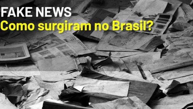 Quem divulgou as primeiras Fake News no Brasil?