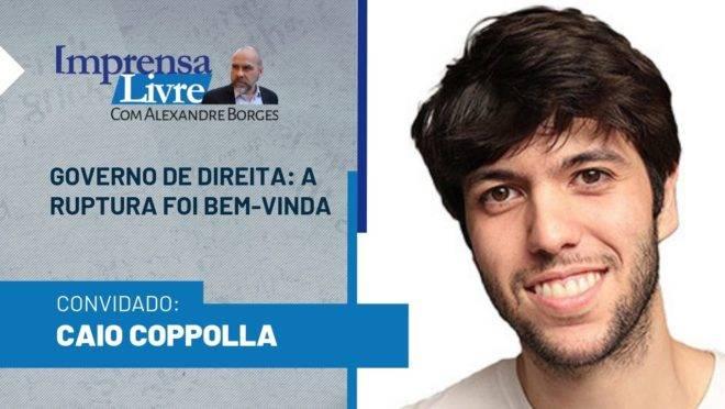 Caio Coppolla é o entrevistado dessa semana do Imprensa Livre