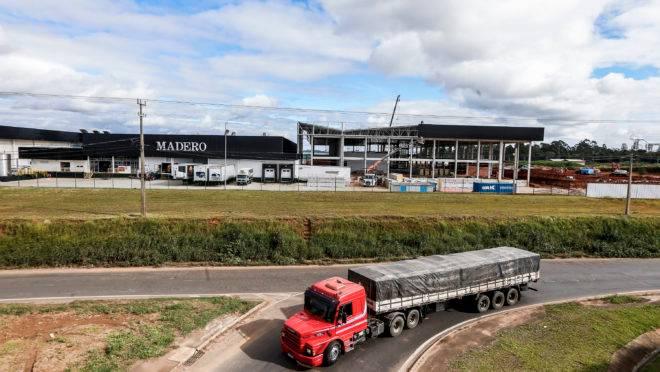 Fábrica do Madero em Ponta Grossa