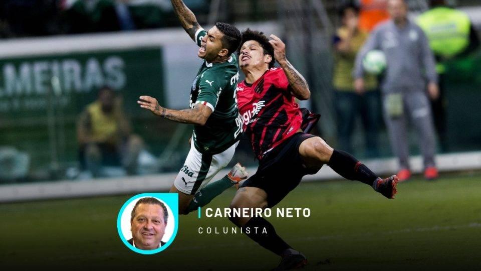 Athletico foi vítima dos seus equívocos contra um Palmeiras que não é tudo isso