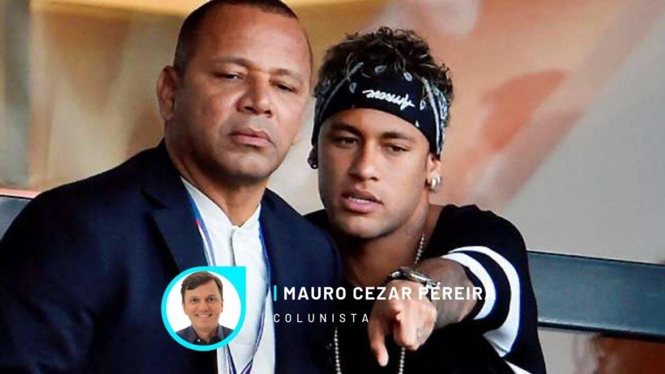 """Neymar amplia rejeição ao contar com pai e """"parças"""" sempre ao redor"""