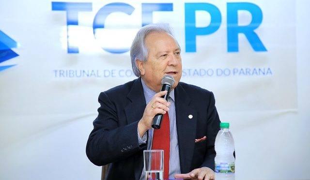 Conselheiro Nestor Baptista, presidente do TCE-PR