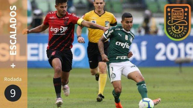 Os mais escalados da 9ª rodada do Cartola FC 2019