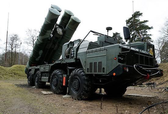 sistema antiaéreo russo S-400