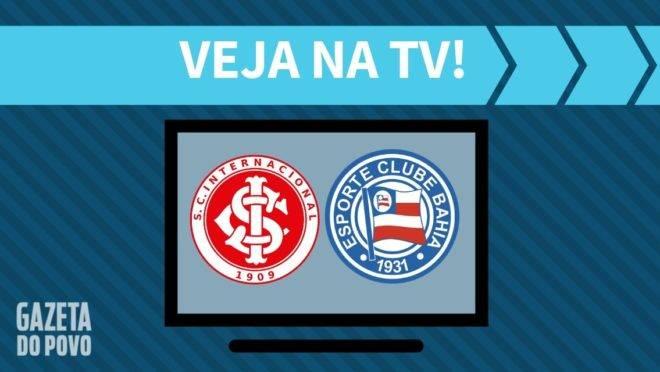 Inter x Bahia ao vivo: jogo da Globo e TNT.