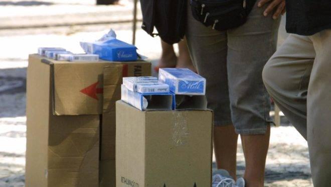 De acordo com o superintendente da Polícia Federal no Paraná, Luciano Flores de Lima, o contrabando, principalmente de cigarros, permite mais lucro às facções criminosas do que as drogas. | MARCELO ELIASMARCELO ELIAS