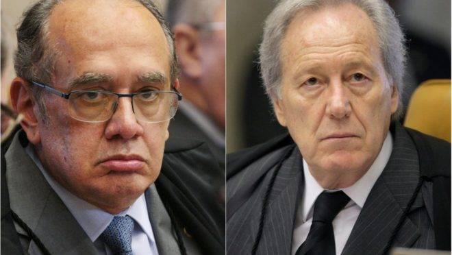 Gilmar Mendes e Ricardo Lewandowski, ministros do STF