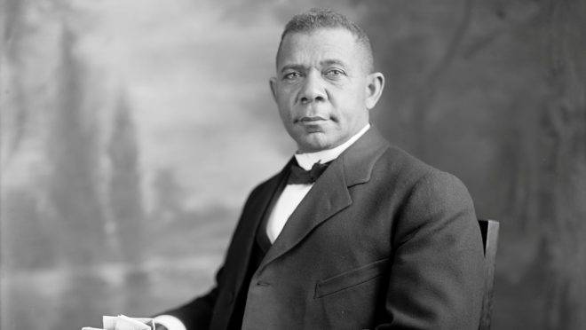 Booker T. Washington.