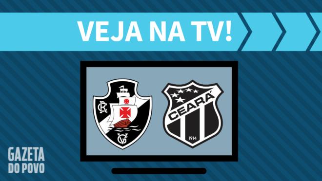 Vasco x Ceará: veja na TV