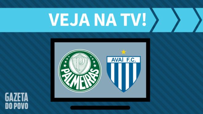 Palmeiras x Avaí: veja na TV