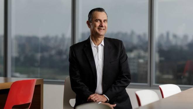 O CEO da Mastercard para o Brasil e o Cone Sul, João Pedro Paro Neto.